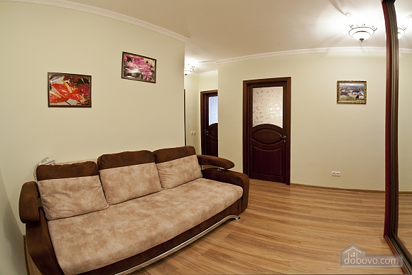 Cosy apartment with view on Dnipro river and Holosiivskyi wood, Two Bedroom (10251), 011