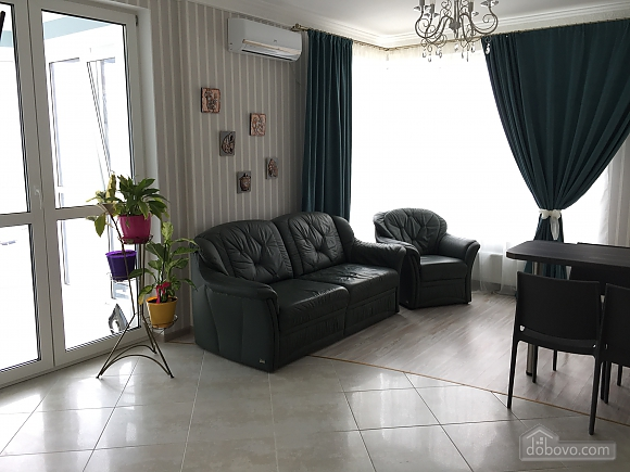 New apartment with two bedrooms in 1 minute from Slavutych metro station, Due Camere (28019), 002