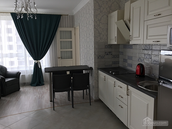 New apartment with two bedrooms in 1 minute from Slavutych metro station, Due Camere (28019), 003