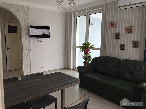 New apartment with two bedrooms in 1 minute from Slavutych metro station, Dreizimmerwohnung (28019), 004