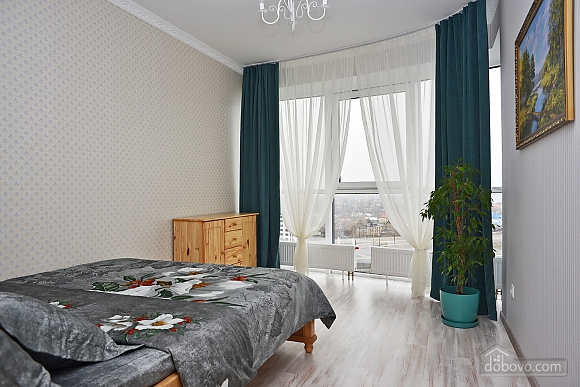 New apartment with two bedrooms in 1 minute from Slavutych metro station, Due Camere (28019), 008