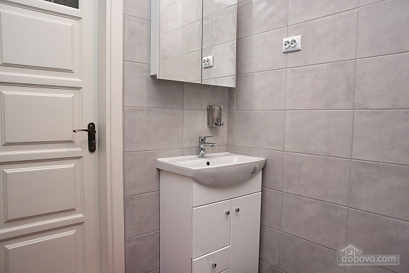 New apartment with two bedrooms in 1 minute from Slavutych metro station, Dreizimmerwohnung (28019), 023