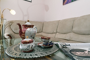 Апартаменти на Хрещатику з джакузі, 3-кімнатна, 004