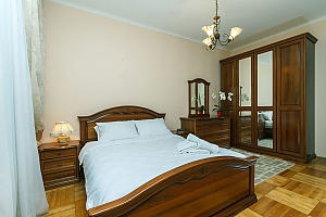 Apartment with Jacuzzi on Khreschatyk, Deux chambres, 001