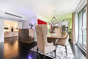 Beautiful flat in central London, Trois chambres, 003