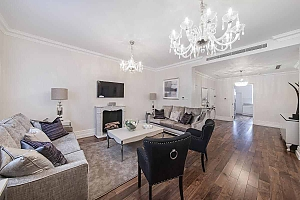 Husumgade flat in Copenhagen, Tre Camere, 002