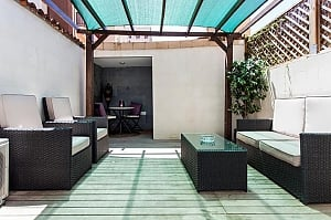 Awesome city center apartment with terrace in Barcelona, Cinque Camere, 013