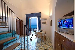 La Caravella Positano - Apartment with 1 bedroom and sea view, One Bedroom, 002