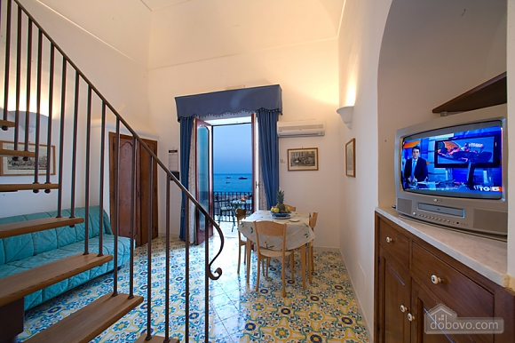 La Caravella Positano - Apartment with 1 bedroom and sea view, Zweizimmerwohnung (28537), 002
