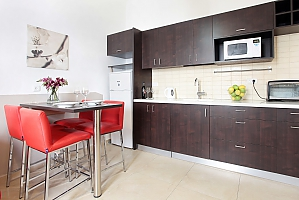 Bright apartment, Monolocale, 003