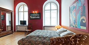 Apartment in the center of Krakow, Zweizimmerwohnung, 001