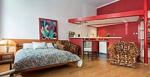 Apartment in the center of Krakow, Un chambre, 002