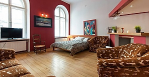 Apartment in the center of Krakow, Zweizimmerwohnung, 004