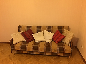 Excellent apartment in 5 minutes from Holosiivska metro station, Un chambre, 002