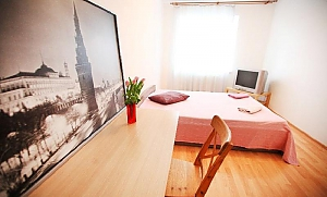 Inexpensive apartment at Pionerskaya metro station, Studio, 001