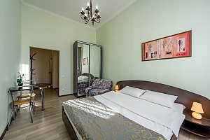 Studio apartment in Holosiivskyi district of Kyiv, Monolocale, 002