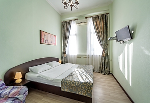 Studio apartment in Holosiivskyi district of Kyiv, Monolocale, 001