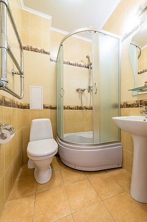 Studio apartment in Holosiivskyi district of Kyiv, Monolocale, 004