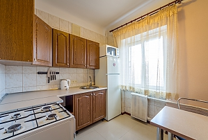 Economy class apartment in Pecherskyi district of Kyiv, Studio, 004