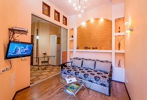 Business-class apartment in Shevchenkivskyi district, One Bedroom, 003