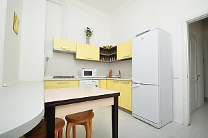 Business-class apartment in the center of Kyiv, Zweizimmerwohnung, 004
