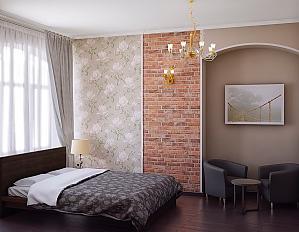 Big apartment in the city center near subway, Fünfzimmerwohnung, 001