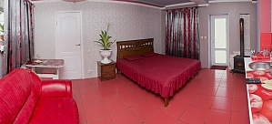 Room for 4 people in Apelsyn mini-hotel, Monolocale, 001