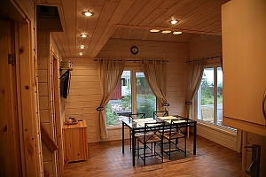 Cottage in a bay of Lake Onega near the spruce forest, Three Bedroom, 004