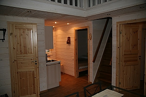 Cottage in a bay of Lake Onega near the spruce forest, Three Bedroom, 005