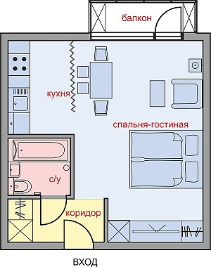 Premium modern apartment, Studio, 003