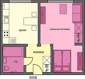 Wonderful business class apartment, Studio, 002