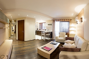Apartment on Lesi Ukrainky boulevard, Un chambre, 004