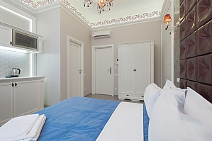 Роскошный тихий полулюкс с душем, 1-комнатная, 002
