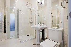 Роскошный тихий полулюкс с душем, 1-комнатная, 010
