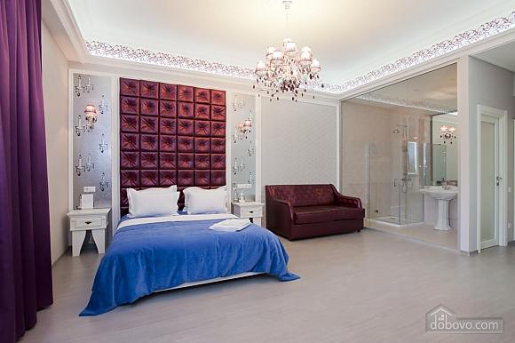 Large quiet stylish studio apartment with balcony, Studio (92562), 002