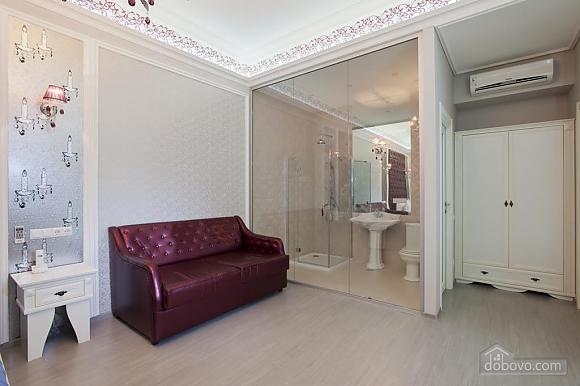 Large quiet stylish studio apartment with balcony, Studio (92562), 003