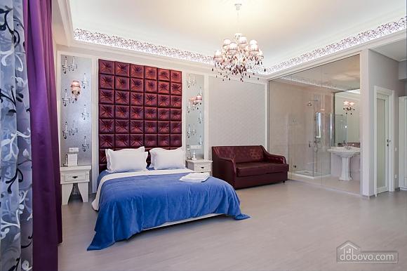 Large quiet stylish studio apartment with balcony, Studio (92562), 005