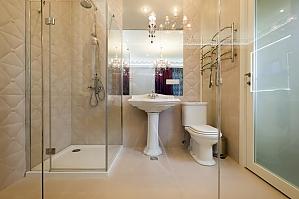 Просторные стильные апартаменты-студио с балконом, 1-комнатная, 010