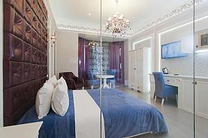 Просторные тихие и стильные апартаменты-студио, 1-комнатная, 001