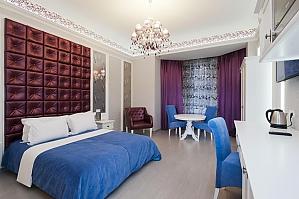Просторные тихие и стильные апартаменты-студио, 1-комнатная, 003