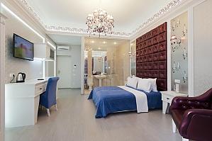 Просторные тихие и стильные апартаменты-студио, 1-комнатная, 004