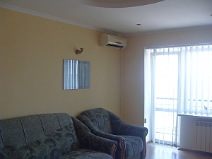 Квартира на набережній Азовського моря, 1-кімнатна, 001