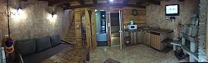 Javirnyk-cottage 4 with fireplace and sauna, Dreizimmerwohnung, 003