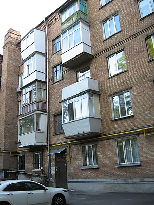 Apartment on Nyvky district near Exhibition center, Studio, 006