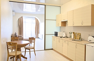 Stylish apartment in the city center, Zweizimmerwohnung, 004