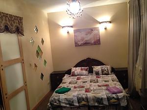 Apartment in the center of Borschahivka, Un chambre, 002