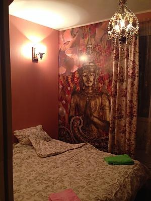 Apartment in the center of Borschahivka, Un chambre, 003