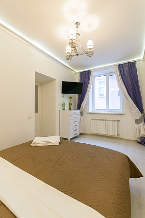 Comfortable one-bedroom apartment with jacuzzi and balcony, Una Camera, 003