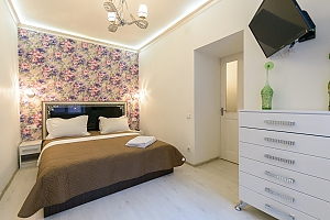 Comfortable one-bedroom apartment with jacuzzi and balcony, Una Camera, 001