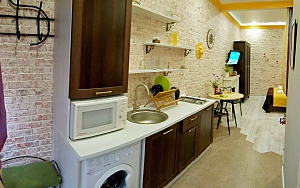 City center apartment, Monolocale, 004